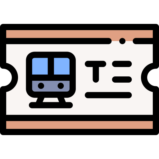 Train Ticket Free Vector Icons Designed By Freepik Vector Icon Design Icon Icon Design