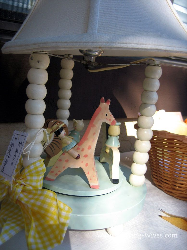 Cute lamp. From Thriving Wives: Hostess with the Mostest: Book Worm Baby Shower