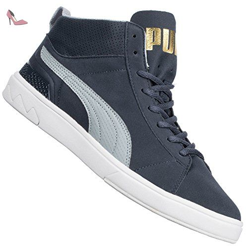 puma suede mid homme