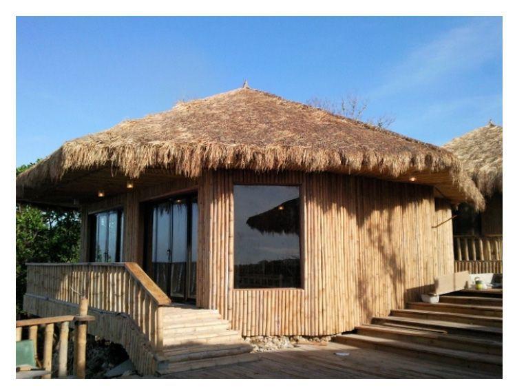 Modern nipa house