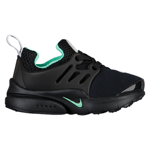 nikes running shoes for girls,Nike Presto - Girls' Toddler - Running - Shoes  - Black/Pure Platinum/Green