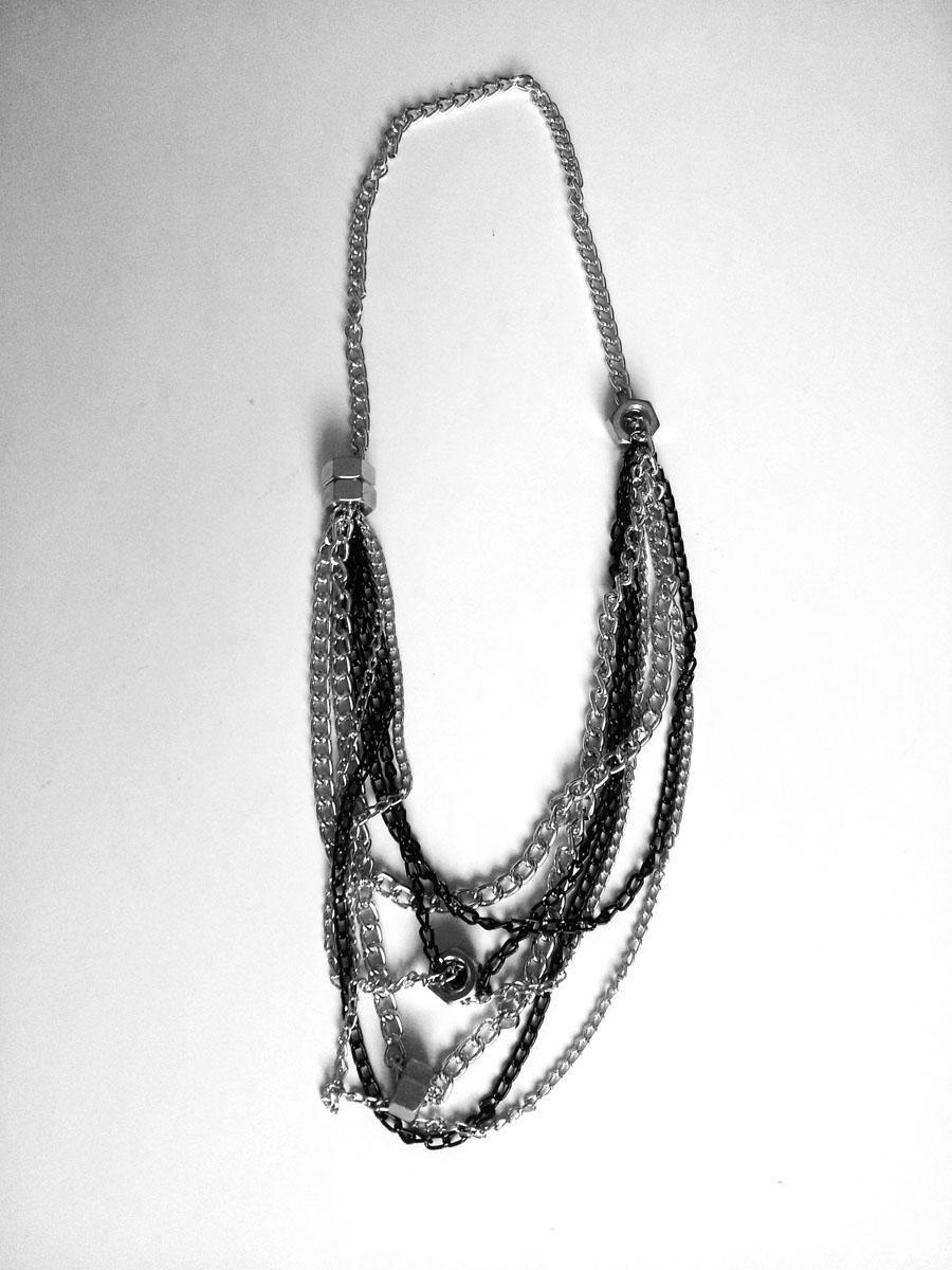 DIY Multi Chain Necklace