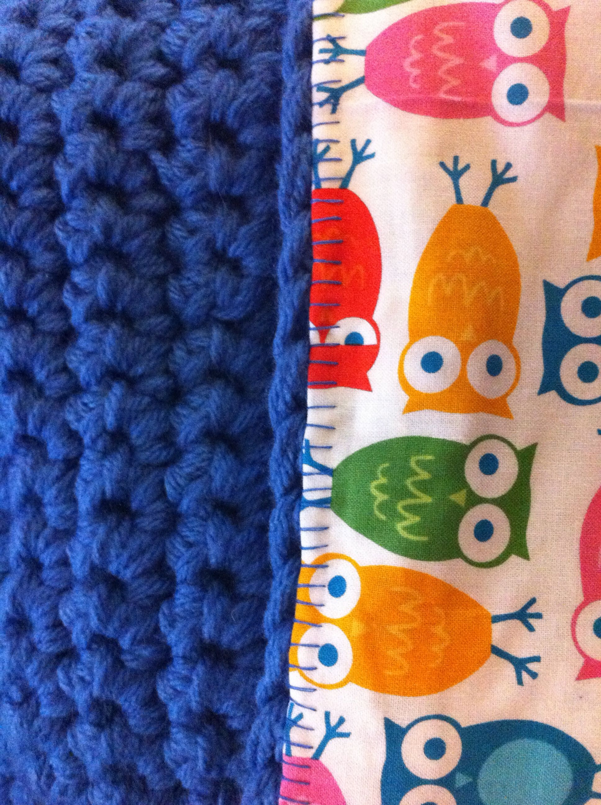 Double Sided Baby Blanket Crochet Crochet Blanket
