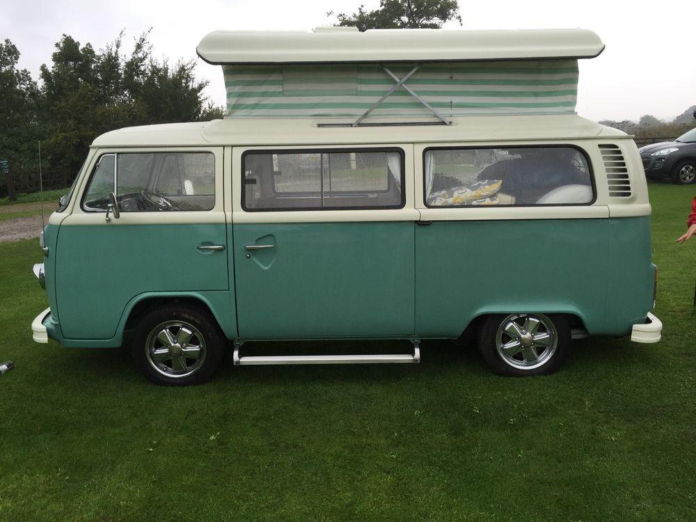 RHD 1973 VW Bay Window camper professionally converted in 2011 ...