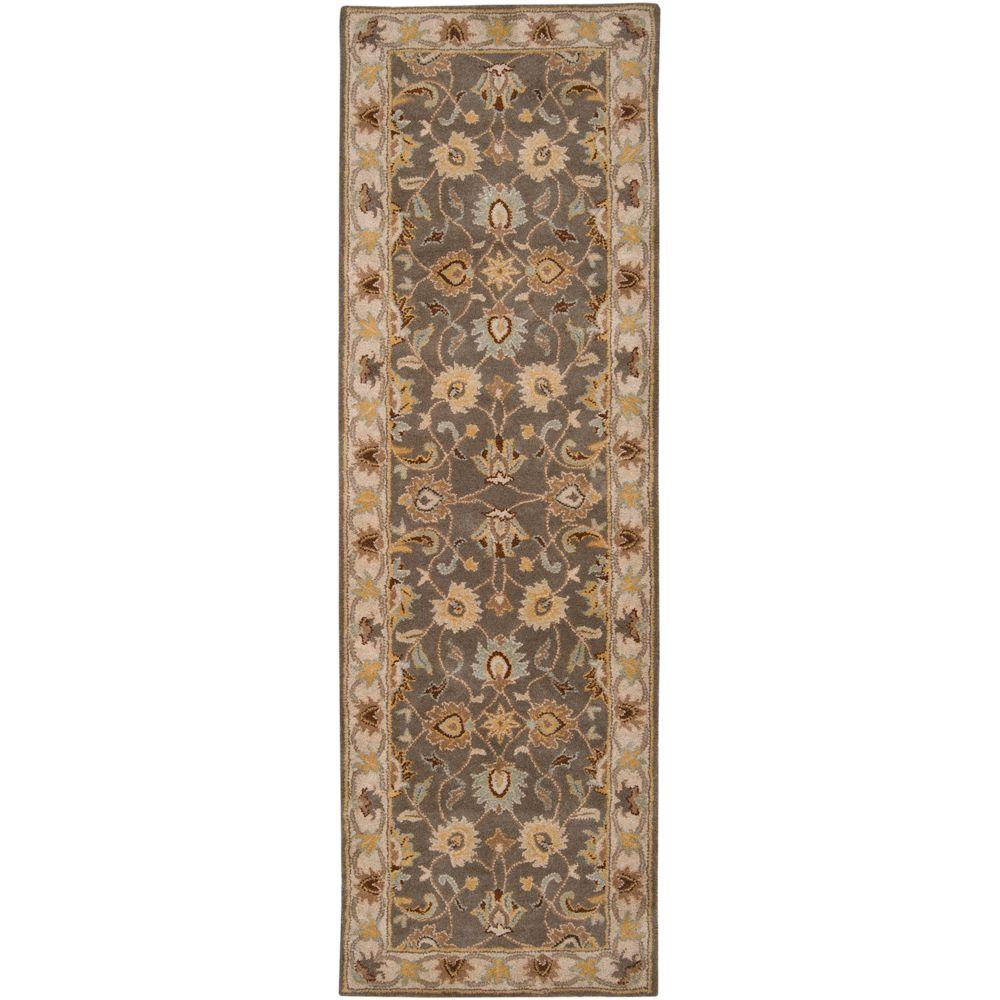 Artistic Weavers John Taupe 3 Ft X 12 Ft Runner Rug Jhn1005 312 Traditional Area Rugs Area Rugs Rugs