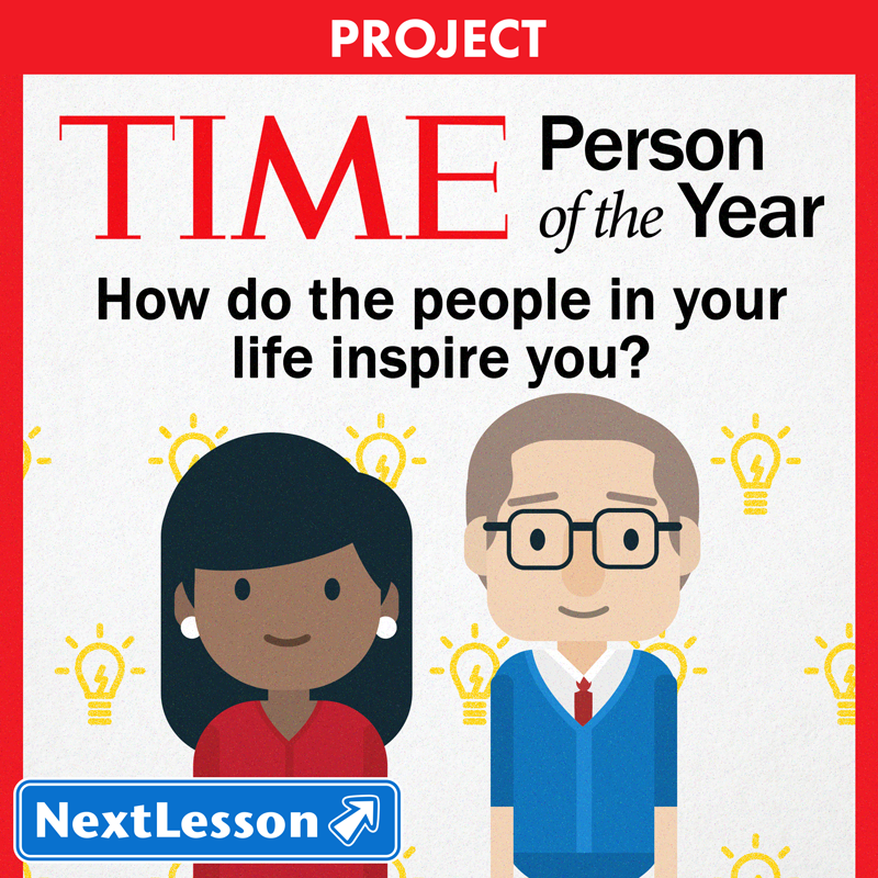 Time Magazine Person of the Year Project | NextLesson