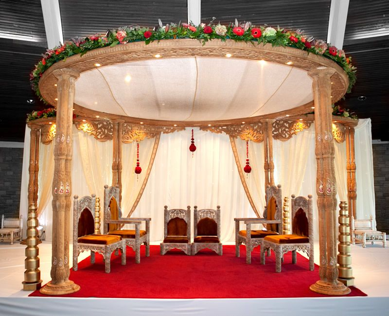 Maharani mandaps em designs london mandap decorator in mandaps stunning designer wedding mandaps by em designs london junglespirit Images