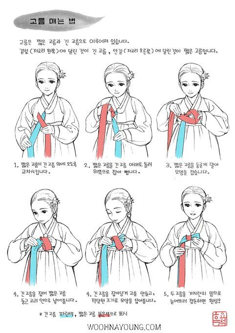 c274f54c6 How to tie korean hanbok | Medieval in 2019 | Korean fashion, Korean ...