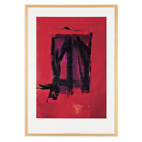 Franz kline red painting