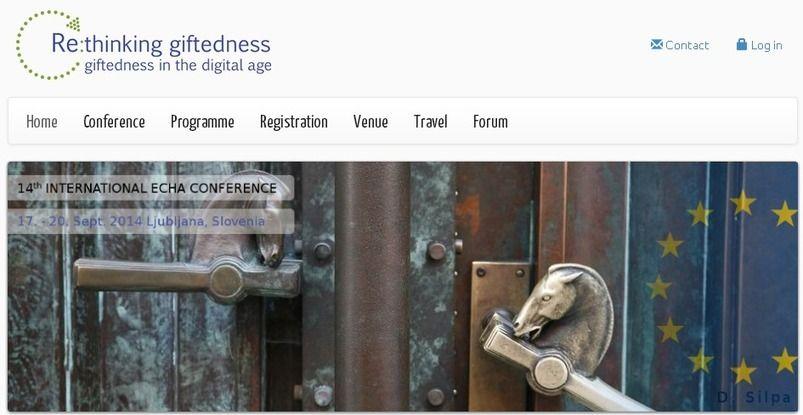 Javier Tourón: Re: Thinking Giftedness. 14th Congreso de ECHA