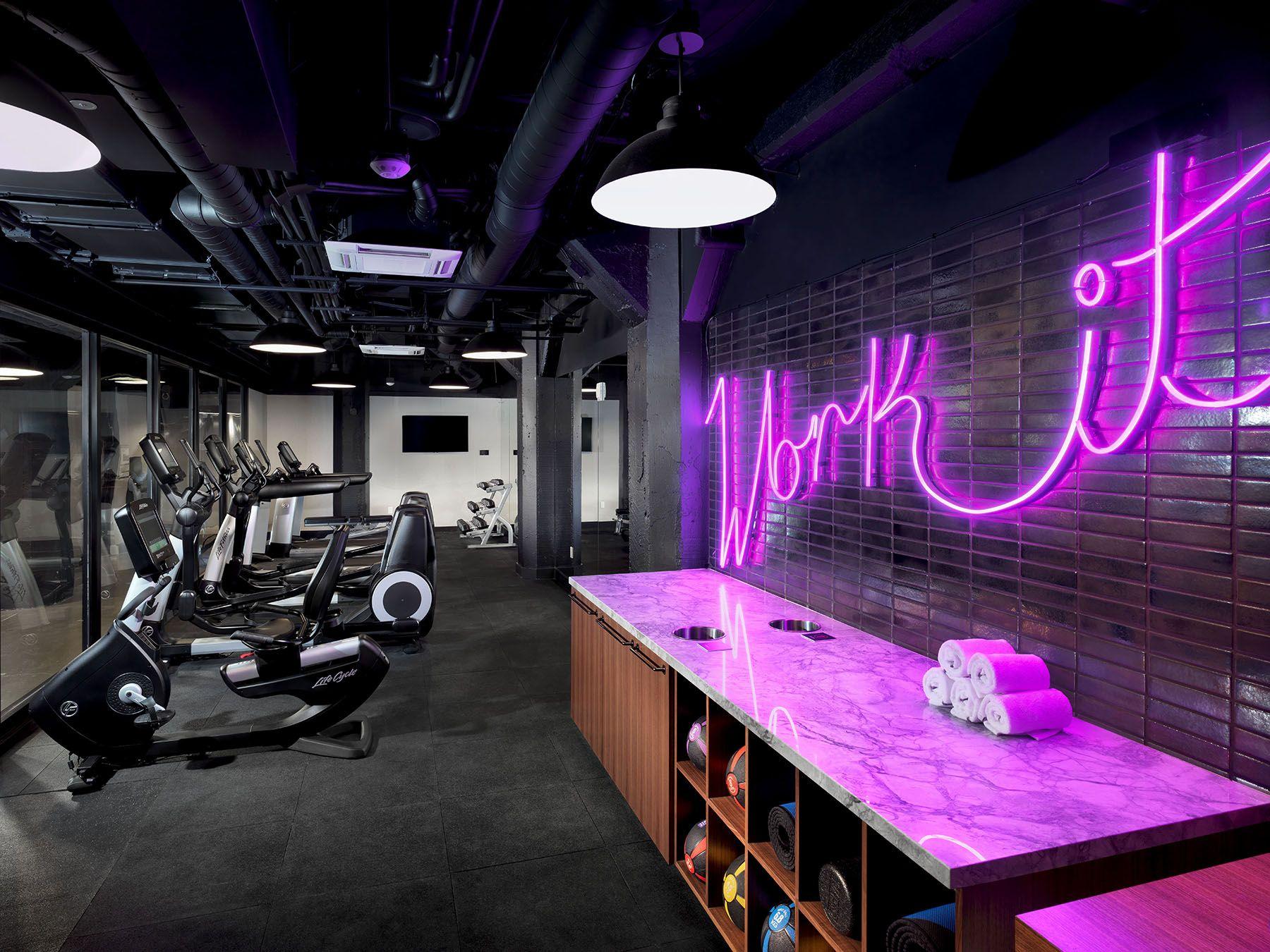 Axiom Hotel Gym Design Interior Gym Interior Gym Room