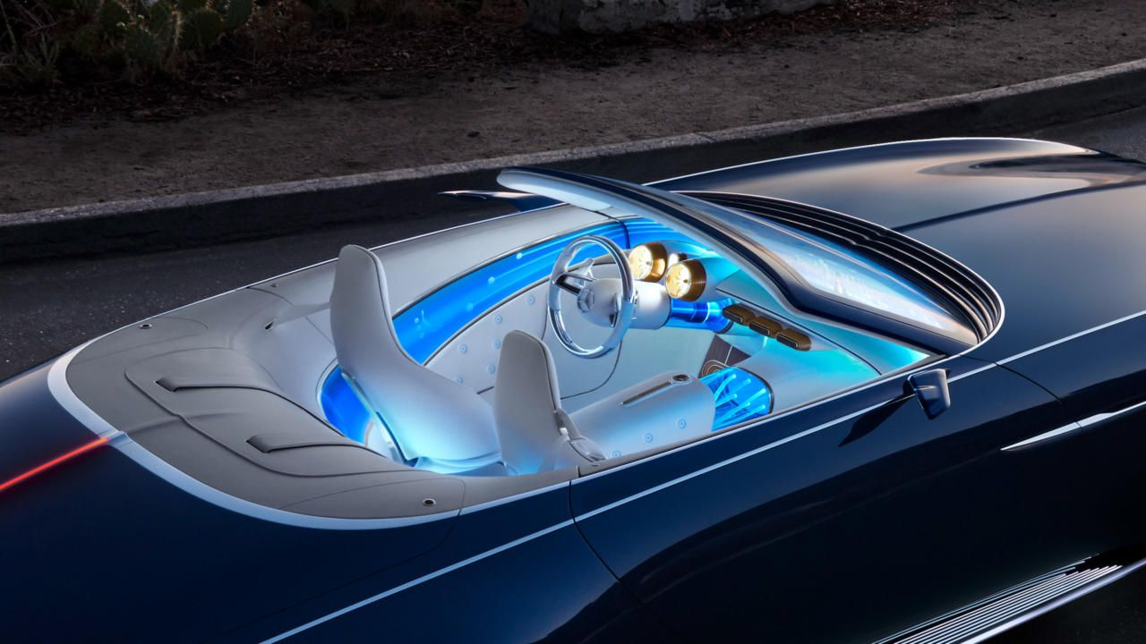 Vision Mercedes Maybach 6 Cabriolet Ultimate Luxury Of The Future