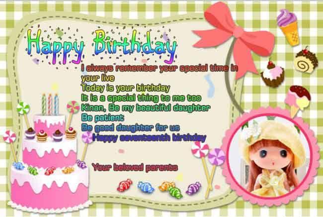 Contoh Greeting Card Ulang Tahun Bahasa Inggris Dengan Gambar