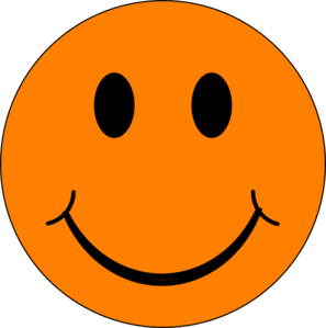 Image result for orange smiley face