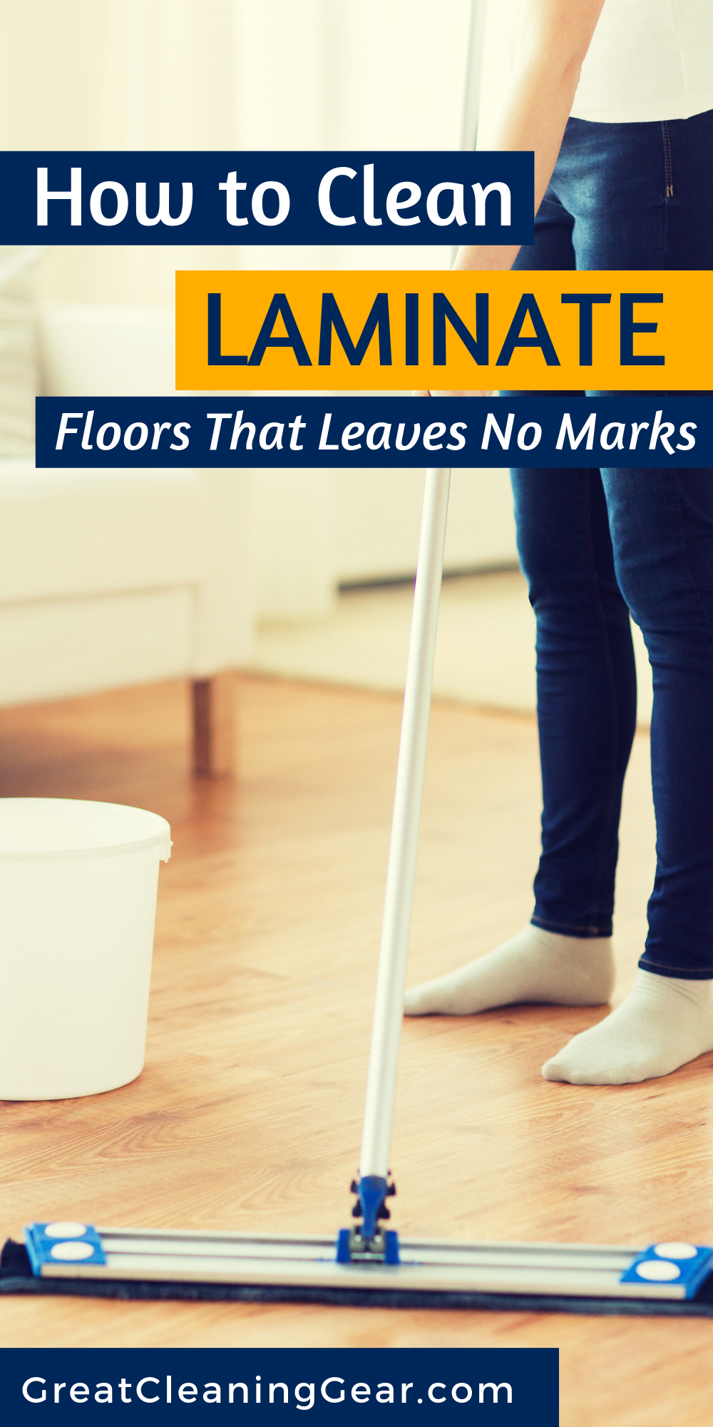 How To Clean Laminate Floor Without Streaking Clean Laminate How To Clean Laminate Flooring Mopping Laminate Floors