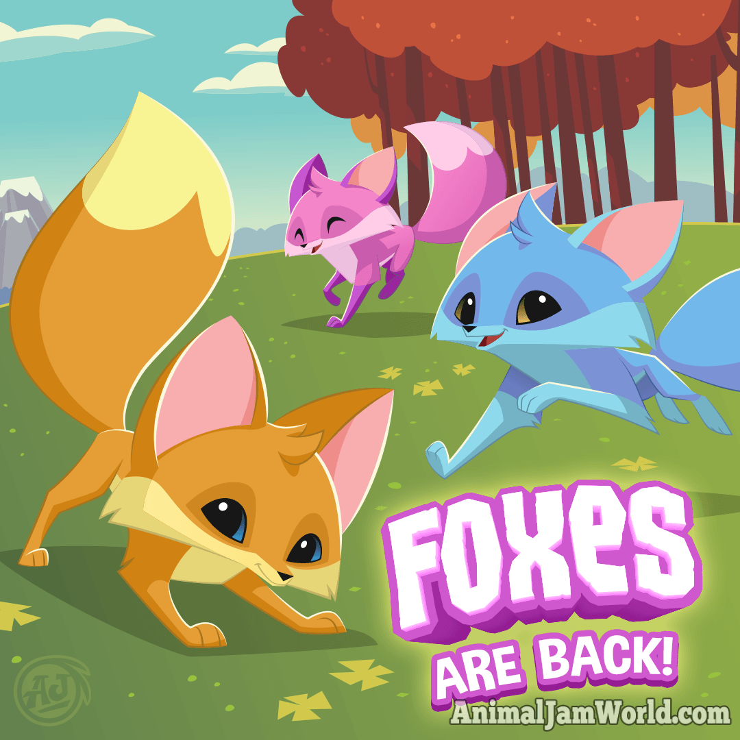 Play Wild Foxes - How to Get a Fox! - Animal Jam World ...