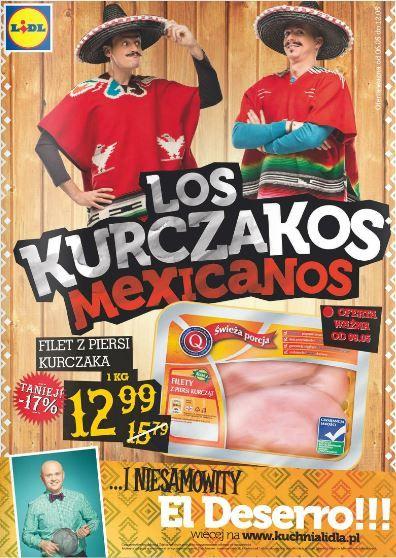 Meksykanska Gazetka Lidla A W Niej Los Kurczakos I El Deserro Sprawdzcie Sami Http Www Promocyjni Pl Siec 142 Lidl Popover 8118 Lidl