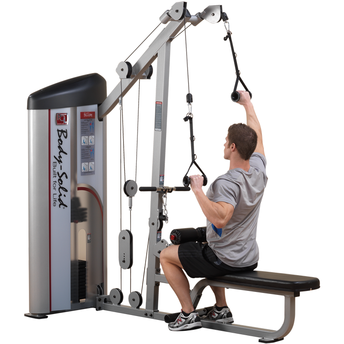 Seated Pull Down Machine For Muscle Development Shoulder