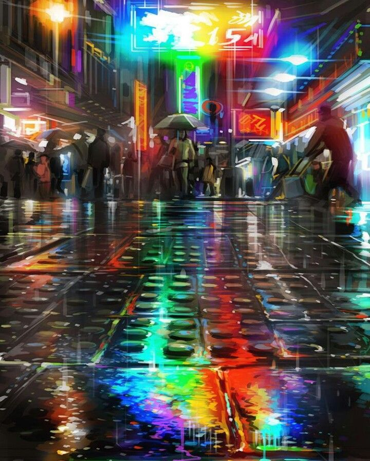 Temple Street, Hong Kong - by Dan Kitchener