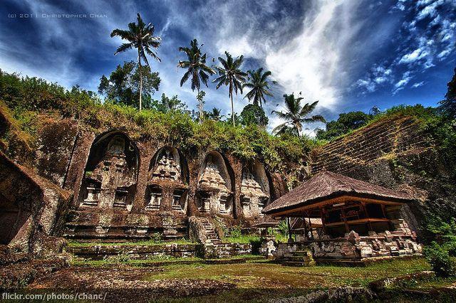 Gunung Kawi Temple, Bali by Christopher Chan, via Flickr