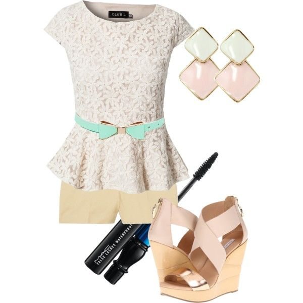 """Pretty in Pastels"" by ronnieboobear on Polyvore"