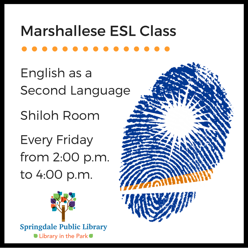 New ESL class offered at the library