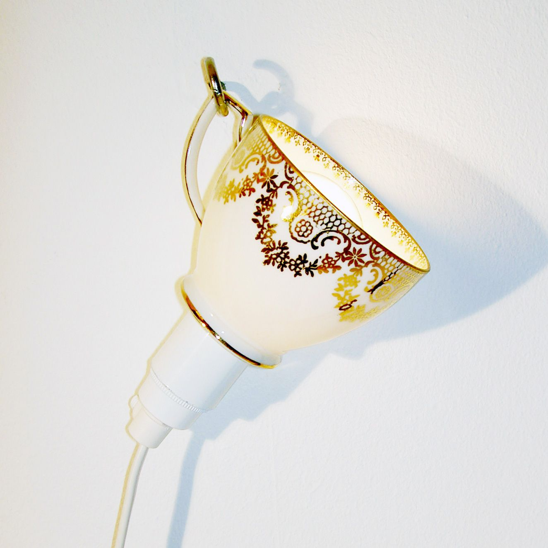 Die Gestalten: 'Fragiles' Recycled Porcelain Bulb Shade