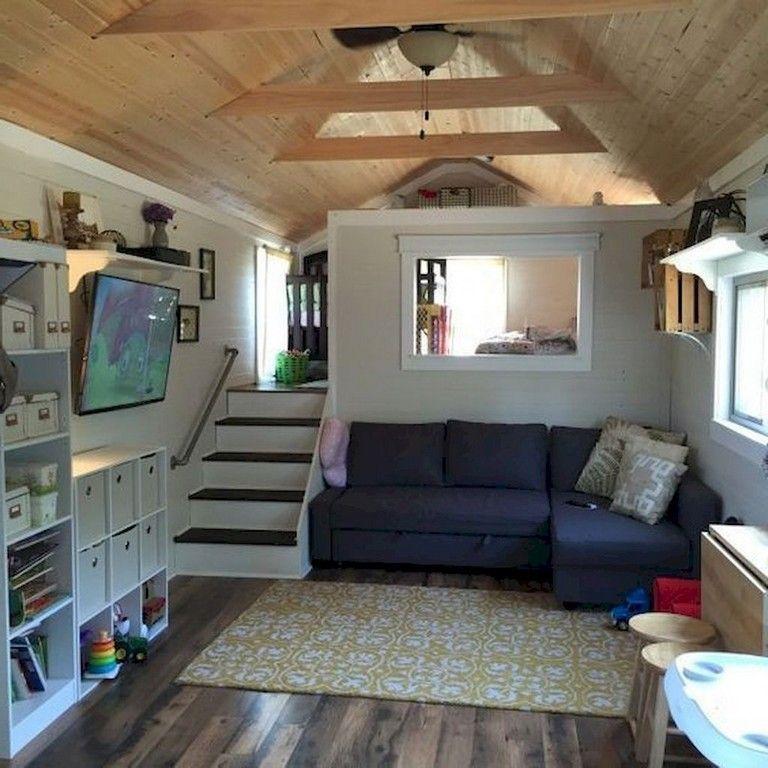 Good Home Design Ideas: 65 Good Small And Unique Tiny House Living Design Ideas