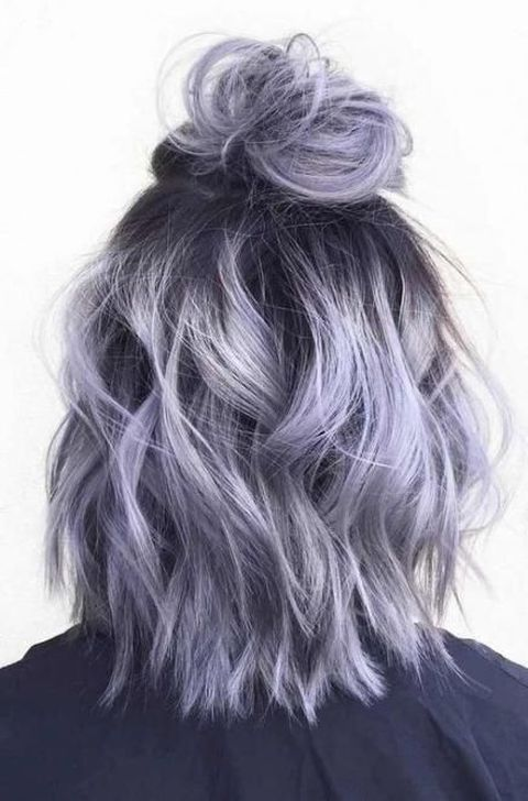 43 Awesome Dyed Hair Ideas That You Must Know Right Now In 2020 Hair Color Grey Silver Hair Styles Grey Hair Color
