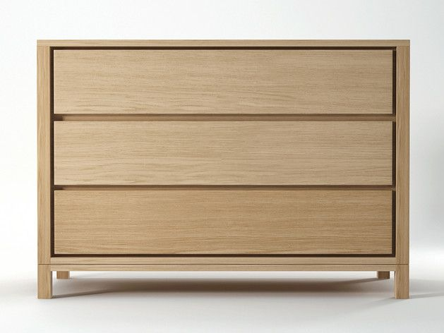 Clean Simple And Contemporary The Continu Chest With 3 Drawers Will Blend Complment Your Decor Without Dominating Room
