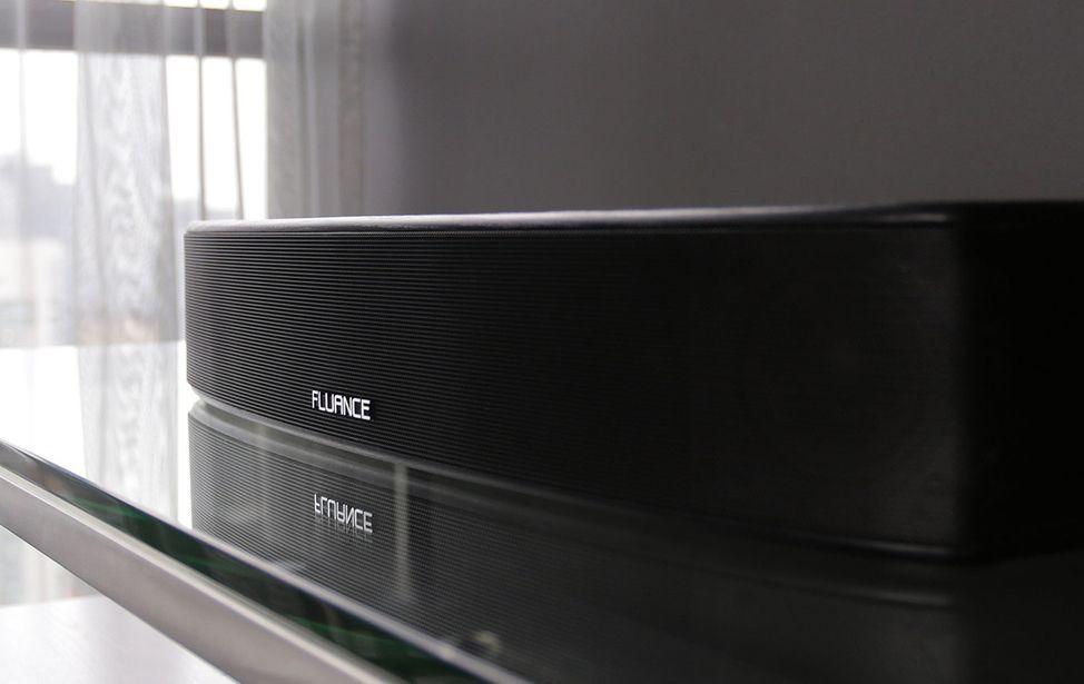 Kết quả hình ảnh cho Fluance AB40 Soundbase Review: Small, Powerful, Affordable