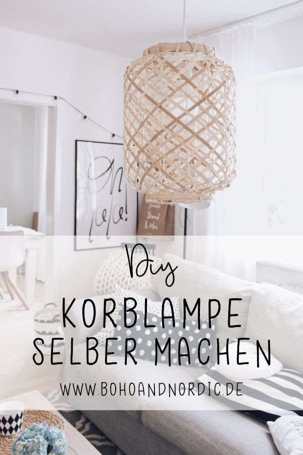 Photo of DIY Korblampe selber machen