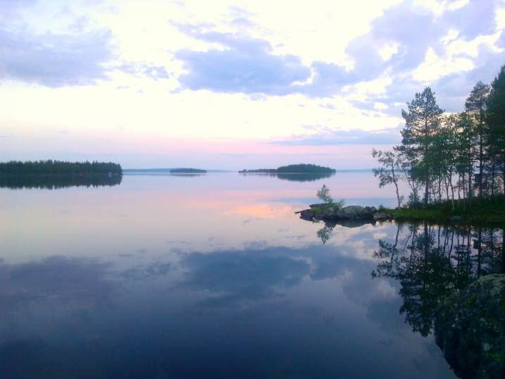 Kesäloma mökillä 2013. Kuusamo, Finland