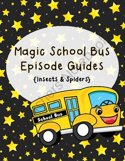 Discovery Magic School Bus Spins Web