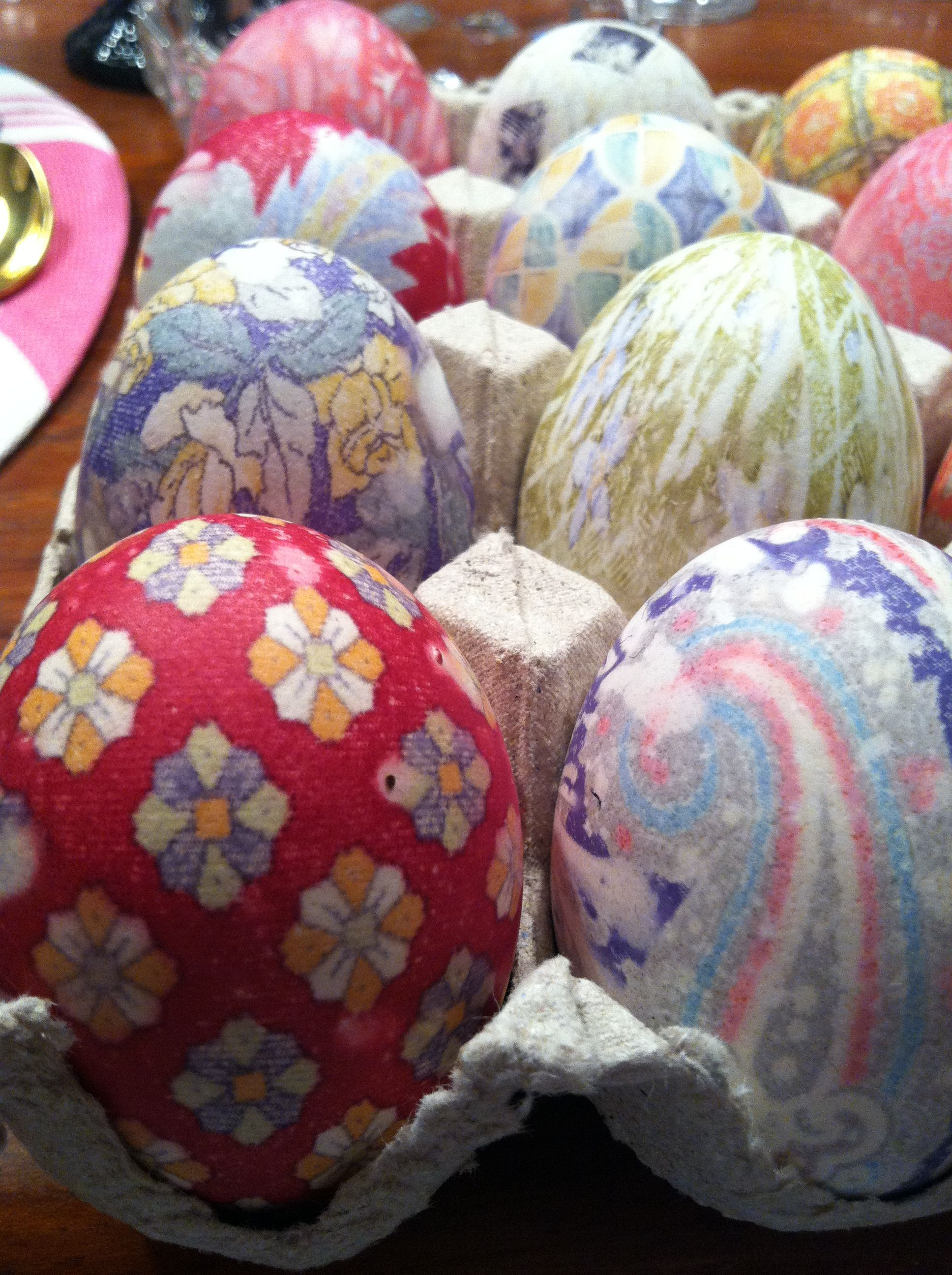 Tie dyed Easter eggs were very cool and easy  to make!!!  Find pin on my Easter board.