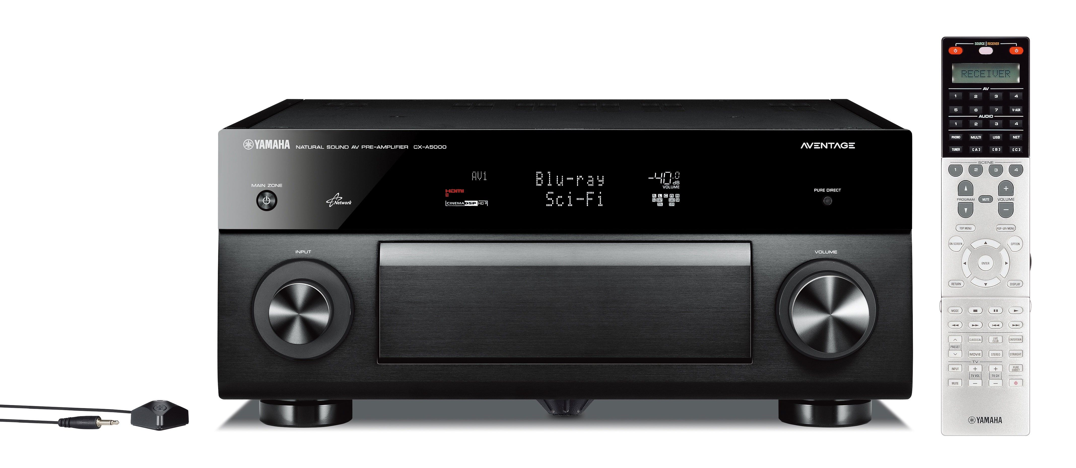 Yamaha Aventage Cx A5000 Av Preamp Features Xlr Balanced Connection Pre Wiring A Home Theater 11 Channel Out And 2 Input Ess Technology Es9016 Sabre32tm Ultra Dacs For