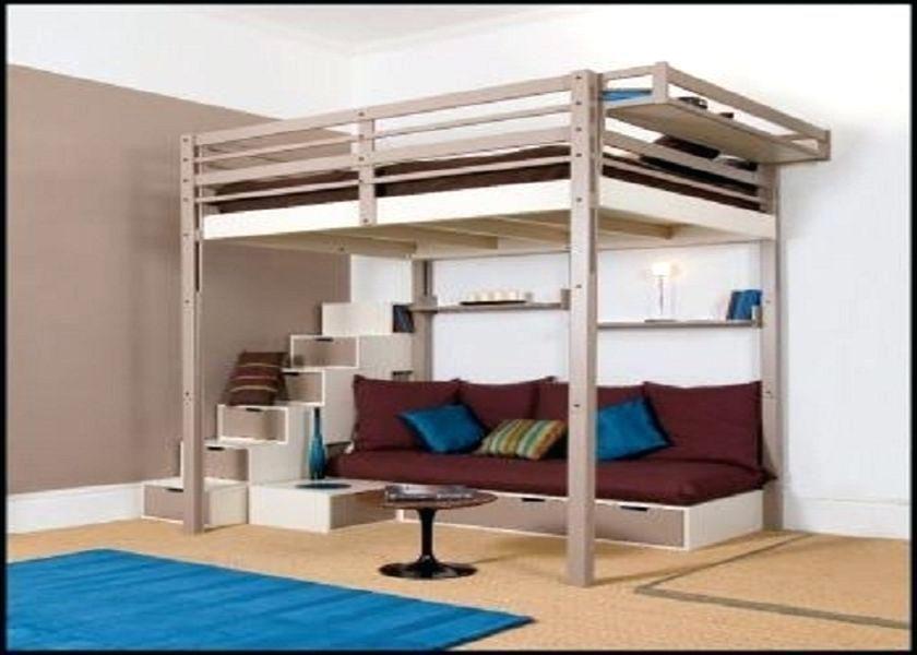 Bed Frame Full High Sleeper Loft Beds Loft Bed Frame Cool