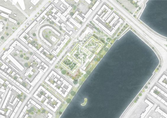 C.F. Møller Architects and Tredje Natur win Future Sølund in Copenhagen #landscape #architecture #urbanism