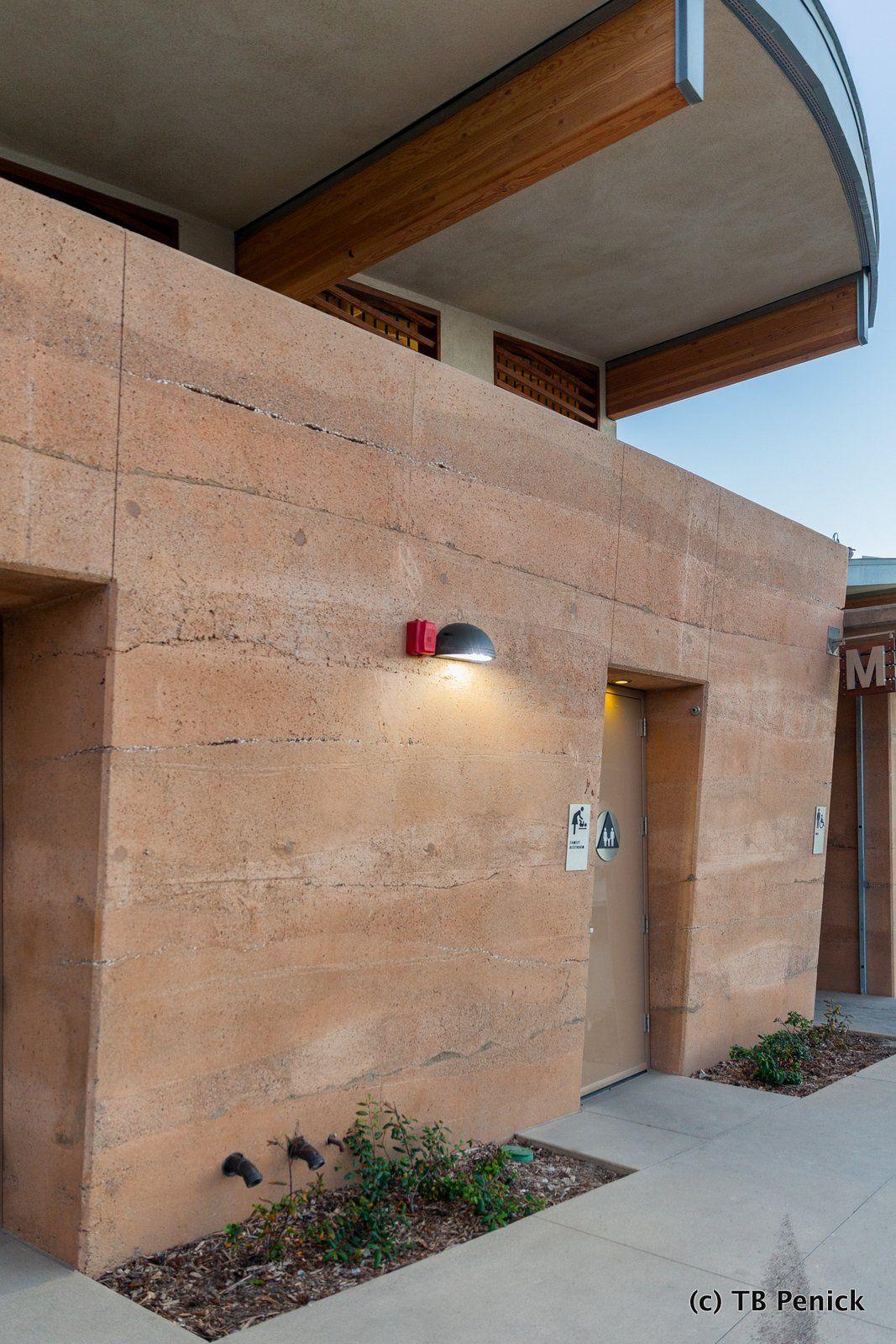 Decorative Concrete Sedimentary Walls Installed By Dcc Member Tb Penick At Moonlight Beach In California Concrete Decor Exterior Decorative Pervious Concrete