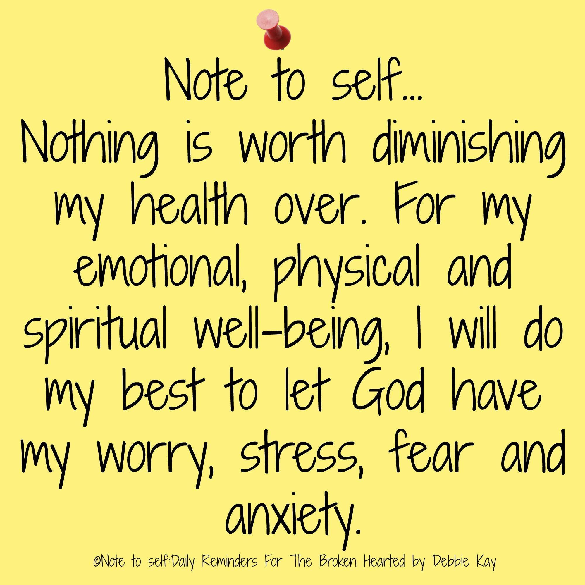 Bible Quotes About Anxiety And Stress: Health And Well Being.