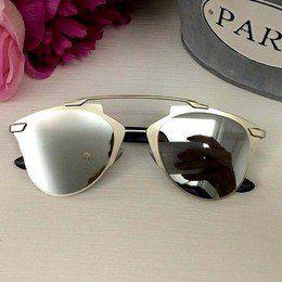 8d1c5f39d0595 Oculos de Sol Prata Lente Espelhada   Óculos de Sol   Pinterest