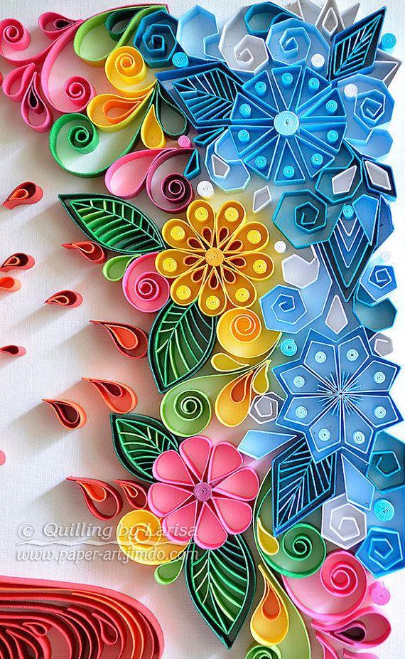 Quilling Quilling Wall Art Quilling Art Quilling Paper Art Heart