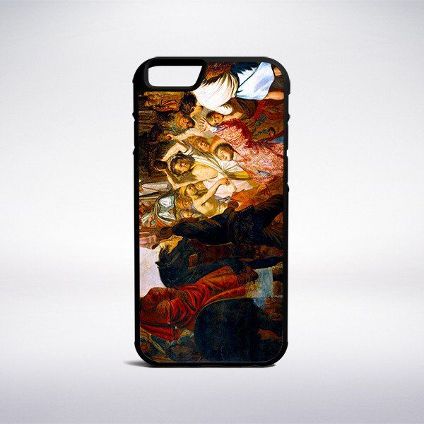 Rembrandt - The Lapidation Of Saint Stephen Phone Case – Muse Phone Cases