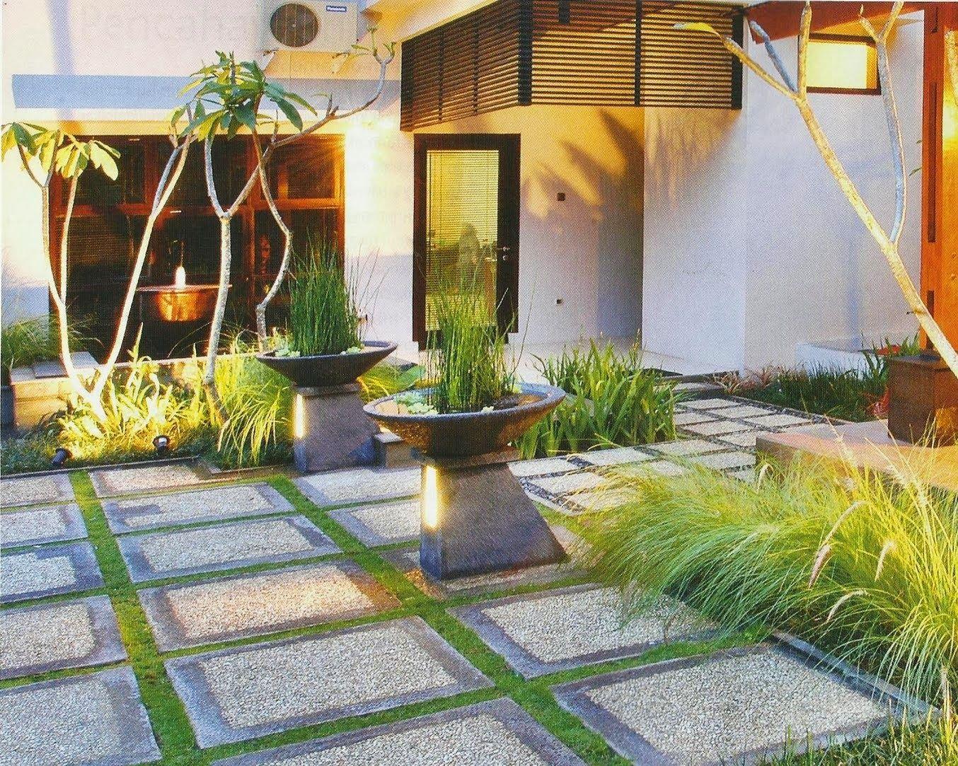 minimalist home garden design desain taman rumah on inspiring trends front yard landscaping ideas minimal budget id=89433