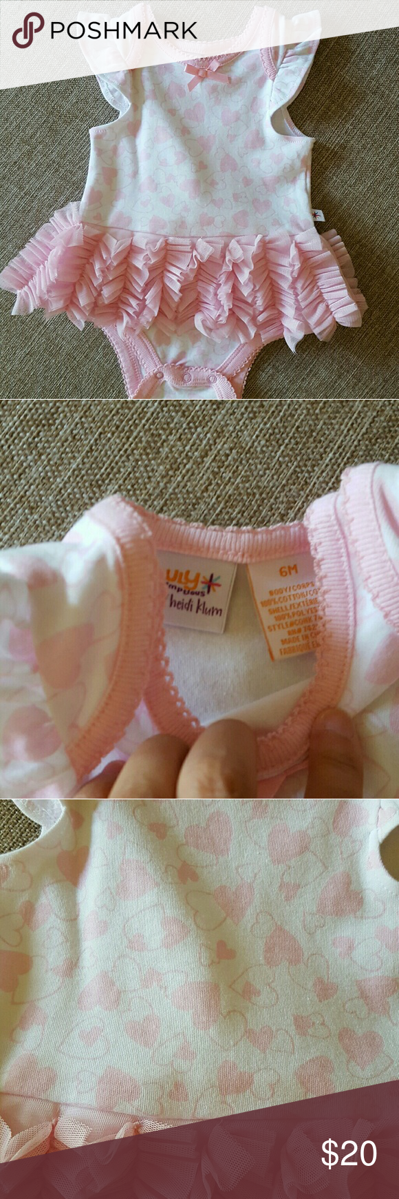 Baby onesie with attached skirt Ballerina onesie Truly Scrumptious by Heidi Klum Dresses Casual