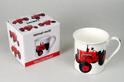Kultatukku.fi - Valmet –muki lahjapakkauksessa