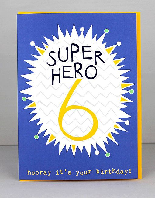 New 6th Birthday Cards For Boys By Molly Mae I Love This New Range