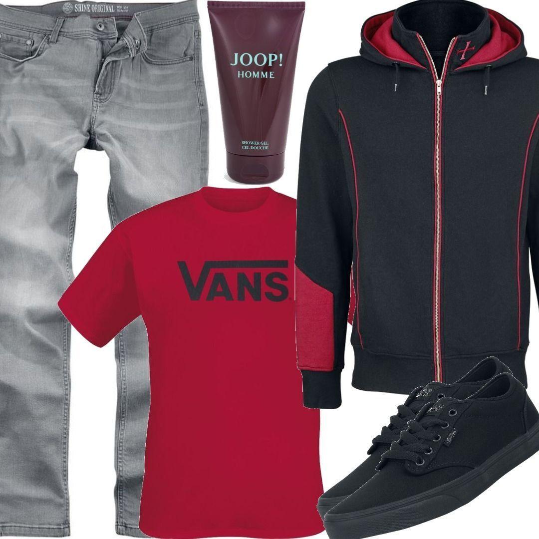 Vans Classics T Shirt Outfit für Herren zum Nachshoppen