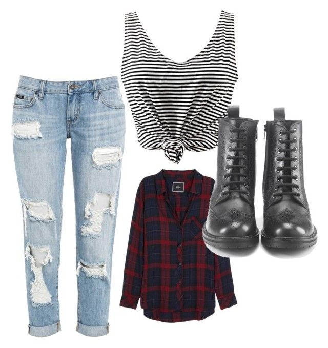 """""""Grunge"""" by lovepeace32400 on Polyvore featuring Rails and Hera"""
