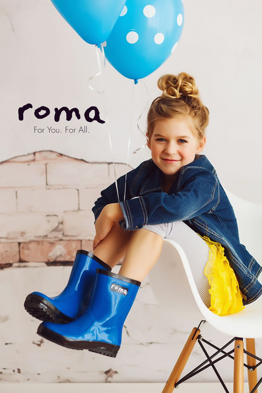 Children Rain Boots Moda Bambino Moda Bambini